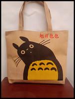 Shopping bag cartoon shopping bag eco-friendly bag shoulder bag cloth totoro