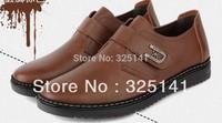 2013 New Arrival Men's Casual Shoes Genuine Leather Business Dress Moccasins Slip On men's shoe Men footwear casual shoe,2106