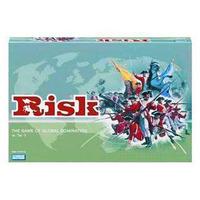 Desktop large risk English version board game