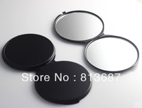 20Pcs 70MM Multicolor Blank Compact Mirror Black Color DIY Portable Metal Cosmetic Mirror Wedding Gift - Free Shipping