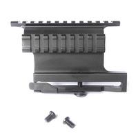 "Quick Release Side Lock Scope Sight Laser Mount W/ Dual 7/8"" Picatinny Rail Hunting Gun Accessories For AK/AKS Saiga Rifle"