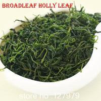 2014 new tea, Broadleaf Holly Leaf, Herbal tea, lobular Kuding tea, green mountains and rivers, wild tea, 50g