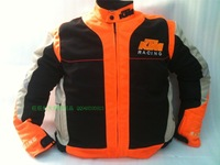 Ktm motorcycle clothing automobile race breathable mesh ride service orange summer jacket