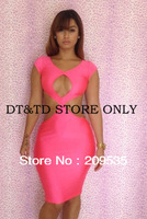 Free Shipping 2013 new fashion women bodycon patchwork bandage mesh dress sexy club/party/evening A0130s,m,l