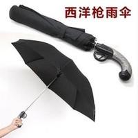 Excellent classical gun folding  knife umbrella pistol umbrella