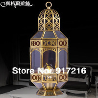 Unique Arabian or southeast Asia copper table lamps T1110-1