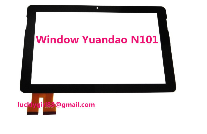 Free tool NEW 10 1 inch Touch Panel Touch Screen Digitizer for Yuandao N101 1 Duo