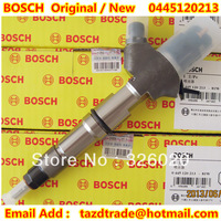 Original and New Common Rail Injector 0445120213 / 612600080611 for WEICHAI