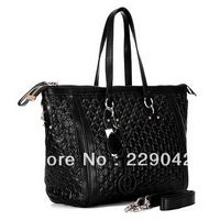 New arrival Lady charm large top handle bag black 247280  Totes  Bag