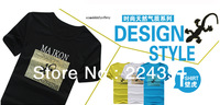 Free shipping, high quality T-shirt, 2014 new summer style, round collar T-shirt, fashion, cultivate one's morality size: M -XXL