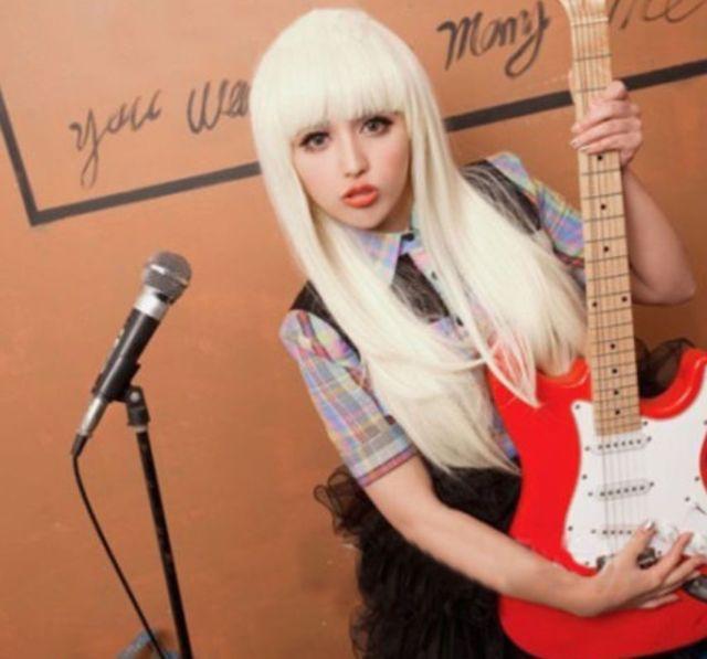 Long White Straight Women's Cosplay Christmas Day Wigs(China (Mainland))
