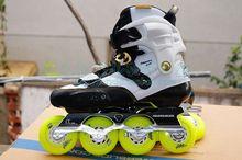 Adult Artistic Roller Skates Boots Powerslide-EVO Shoes Body High Quality Slalom Skates Free Shipping Good Quality Athletic(China (Mainland))