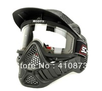 paintball and airsoft  Mask with double lenses