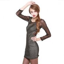 wholesale net fabric dress