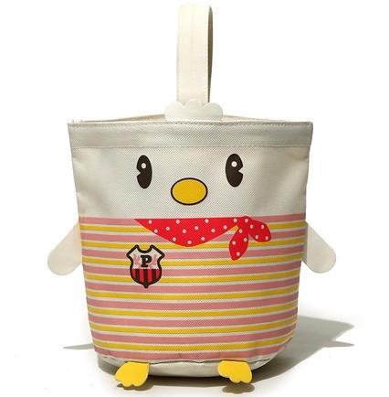 (30 Pcs/Lot) Lovely Fashion Canvas Cartoon Bird Design Hanging Sundries Storage Bags,Size 21*17*13 CM(China (Mainland))