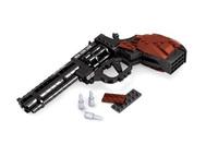 Ausini Gun Series Revolver No.P22511 Building Blocks SetsEducational DIY Self-locking Bricks Toys for Children Compatible Bricks
