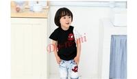 2014 new arrival boys retail short sleeve t shirts fashion spiderman design kids cotton tee shirt boy girl clothes free shipping