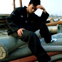 Weight ! lastfor1 adult black taekwondo clothes thaiquan myfi