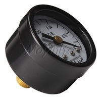 -0.1-0Mpa Vacuum Gauge Axial Air Pressure Meter M10*1 Brass Movement