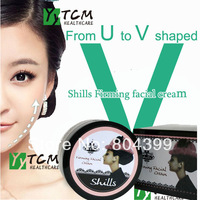 Shills face lifting paste double compaction younger face V type slim face cream resist wrinkles fine lines face cream