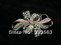 2014 New style 100% crystal luxurious fashion wedding Hairpins bride hair jewelry retail / wholesale