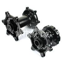 17'' Front and Rear Wheel Rim Hub Supermoto For KTM EXC SX SXF 125 250 2003 2004 2005 2006 2007 2008 2009 2010 2011 Black
