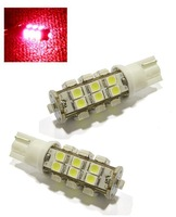 Car T10 1210 W5W 25SMD LED Reading Door Light Bulb Red   [cp319]