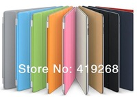 magnetic slim smart pu leather stand cover for apple 2, 3, 4, wholesale prices, free shipping