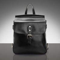 Cowhide casual fashion all-match fresh sweet portable single double-shoulder women's genuine leather handbag