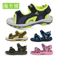 2014 summer boys shoes female child sandals child sandals genuine leather male child sandals girls shoes 25 - 36