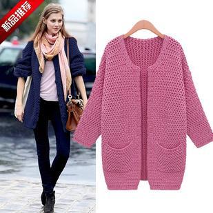 Extra Long Sweater Coat 11