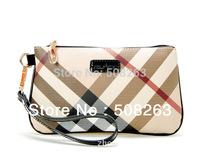 ON SALE New Fashion Lady Day Clutch Plaid Women Leather Mini Handbag Female Small Bag Coin Purse Designer Quality Brand BBL09
