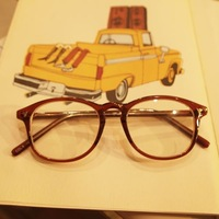 Vintage vintage glasses myopia eyeglasses frame male Women coffee