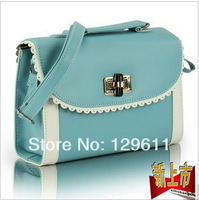 free shipping 2014 female bag fashion women handbag small bag dual-use women messenger bags women leather handbags famous brands