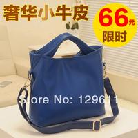 free shipping 2014 women's handbag fashion shoulder bag messenger bag women's genuine leather handbag women's brand famous