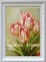 Valentines Gift Tulip Diy Diamond Painting Kits 30x40cm 3d diamond full rhinestone unfinish Free Shipping