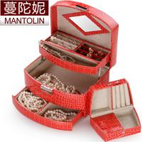 Jewelry box with lock fashion princess jewelry box ring box jewelry box
