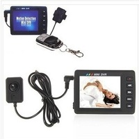 Free shipping angel eye of KS - 650 - m enhanced hd mini camera 2.5 inch screen with remote mobile detection