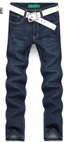 Free Shipping Summer Fashion Thin & Light Cotton Jeans Men, New Designer Brand Classic Denim, Long Pants For Men Sm 01