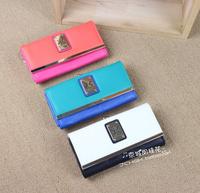 sale pu carteira feminina 2014 hot kk women long paragraph white wallet touch buckle hit color kardashian kollection purse