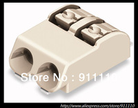 100pcs/lot Wago SMD terminal block with push-buttons in tape-and-reel packing; 2-pole; Pin spacing 4 mm / 0.157 in