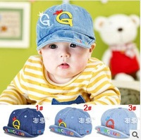 Baby hats for Children summer hat infant cap Denim baseball caps Snapback sports hat Free shipping 1790