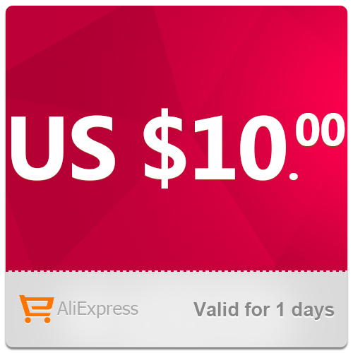 AliExpress US $10.00 Coupon can be used on a single order over US$70