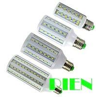 E27 E14 B22 corn led bulb 7W 10W 12W 15W 20W 25W 30W led bombillas 5730 SMD High Power white for home 110V 220V by DHL 20pcs/lot