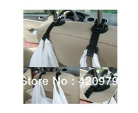 Small size Portable multi-purpose vehicles pothook as utility car hook on seat headrest for hanging storage as auto accessory.
