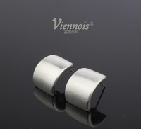 Viennois jewelry wholesale square contracted fashion generous 18 k gold plated earring