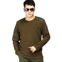 Free shipping outdoor military enthusiasts American apparel supplies the 101th airborne ShiChunQiu cotton long sleeve T-shirt