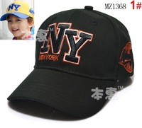 Fashion Children's hat embroidery NY baseball caps snapback hats girls & boys caps hats for men Free shipping 1368