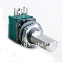 4pcs,ALPS 30k Taper pot Panel Mount RK09L Series Flat Shaft POTENTIOM,2804