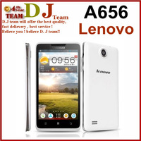 New Arrival Lenovo A656 Cellphone Android 4.2 MTK6589 Quad Core 1.2GHz Dual SIM Cards Ram 1GB Rom 4GB Free Shipping
